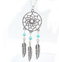 Wholesale 2016 Fashion hot Pendant Necklaces Styles Alloy Dream Catcher girl Necklace For Women Statement Necklace Jewelry NK27