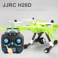 Wholesale JJRC H26D Drone With MP Wide Angle Camera One Key Return RC Quadcopter GHz Remote Control Helicopter dron