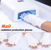 Wholesale UV Protection Nail Art UV Gel Anti UV Glove for UV Light Lamp Radiation Protection Manicure Nail Art Dryer Tools