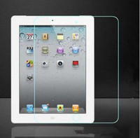 Wholesale Applicable to Apple iPad2 tempered glass film high definition screen Tablet PC protective film