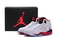authentic jordans - NIKE Retro Fire Red Men basketball shoes authentic AJ5 sports shoe Jordans shoes sneakers Eur