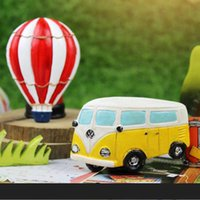 air fridge - Large size creative retro village and hot air balloon resin cartoon fridge magnetic stickers