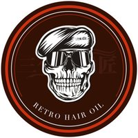Wholesale Hair Pomade Strong style restoring Pomade Hair wax skeleton cream slicked oil mud keep hair men oil no original MH031