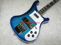Wholesale Blue strings Bass Electric Bass guitars China guitar New Arrival from China