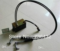 Wholesale Fast E320B B Excavator throttle motor assembly with cables pins cat excavator track parts