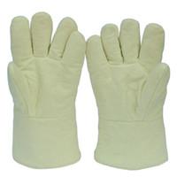 aramid gloves - Flame Retardant Glove Anti Scald Gloves High Temperature Resistance Protective Glove Aramid Glove Industrial Welding Working Glove
