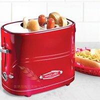 Wholesale American retro baking bread machine fashion red metal creative home appliances kitchen utensils DIY breakfast artifact hot dog hot