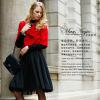 Wholesale Are Cool In Autumn And Winter Warm Red Lady Temperament Jacket Welcome To The Store To Buy