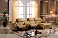 Wholesale L Shaped Recliner Home Use Modern Style Sofa functional sofa sets designs with comfortable recliners Living room furniture