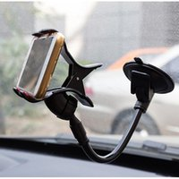 Wholesale 360 Degree Car Windshield Mount Phone Universal Car Holder Bracket Stands mobile Phone Holder for iPhone Plus for Samsung Smartphon