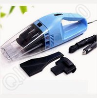 Wholesale 600pcs CCA3696 High Quality Portable Car Vacuum Cleaner Wet And Dry Dual use Super Suction V W Car Tile Vacuum Cleaner Car Accessories
