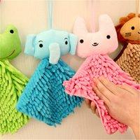 beach hair products - Hanging Hand Towel Super Absorbent Microfiber Cartoon Animal Towels Elephant Rabibit Hair Bathroom Product Beach cm