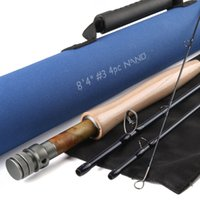 action wells - Maximumcatch NANO A Helix Core Carbon Fly Rod quot FT WT With Cordura Tube Half well Fast Action Fly Fishing Rod