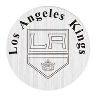 angeles steel - Stainless Steel Floating Plates Charms for Floating Glass Living Locket The Love for Los Angeles Kings