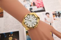 Casual american complete - 2016 New European and American Men and Women Selling Swiss Quartz Watch color Alloy Fake Gold Band Calendar Watch Quartz Watch LP