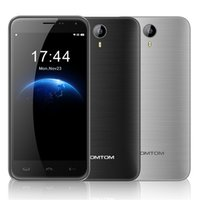 Wholesale 2016 New Homtom HT3 Cell Phones with G Memory G WCDMA MTK6580 Quad Core GB RAM Android MP mAh Mobile Phone