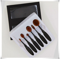 bb eyes - Hot Sale Oval Makeup Brush Cosmetic Multi Function kit BB Cream blusher brush Eye Liner Brush Eye shadow brush Toothbrush Cosmetic brush