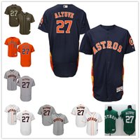 baseball store houston - 2016 Flexbase Mens Jose Altuve Houston Astros Baseball Jerseys White Grey Navy Blue Rainbow Orange Cheap MLB Outlets Store