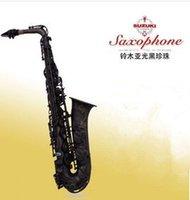 Wholesale DHL new Antique Suzuki matt black E Alto saxophone factory Suzuki saxophone give beautiful case Sax