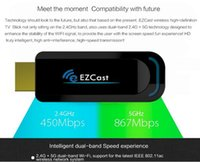 Wholesale Lomefo EZCast A1 G display dongle tv stick WiFi Display Receiver Dongle Support for Windows iOS Andriod
