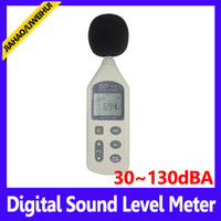 Wholesale LCD Display Round Room Portable Sound Level Meter