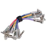 Wholesale 6PCS JOYO CM mm Male to mm Male Plug Shielded Mono Cable