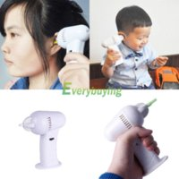 Wholesale Painless Safety Electric Vac Vacuum Ear Cleaner Cleaning Wax Remover Earpick waxed laces wax waterproof