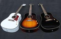 Wholesale J160 quot aocustic guitarra guitarra elétrica acústica acústica guitarra com captadores