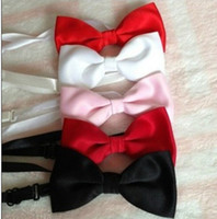 Wholesale Hot Sell Color Groom Bow Tie Custom Made any Color Kid Bow Tie