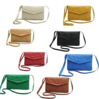 Wholesale JECKSION crossbody bag Vintage Womens Handbags Envelope Bags Cross Body Shoulder Bags Satchel Artificial Leather Handbags New