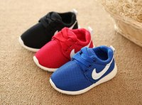 Wholesale 2016 new children s shoes sports shoes children s shoes with breathable mesh cloth male and female children s shoes