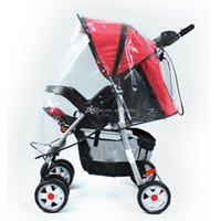Wholesale Universal Waterproof Rain Cover Wind Dust Shield Fr Baby Stroller Pushchair L00067 BARD
