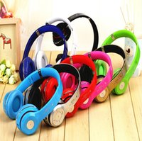 Wholesale S460 Bluetooth Headphones Wireless Headband Earphone Hands Free Music Headset With MF TF for Apple Samsung HTC Mobile Phone
