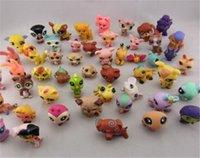Wholesale 20pcs Littlest Pet Shop LPS Animals Figures Toy petshop pets figure HasBro Mini toy For Children Toy Gifts