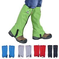 al por mayor buenas piernas-De Buena Calidad Camping al aire libre impermeable Caminando Caminando Escalada Caza Trekking Esquí Manguito Piel Legging Gaiters Protección