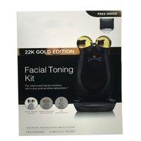 Wholesale Nuface Trinity PRO K GOLD EDITION facial trainer kit Facial Toning Kit facial Skin Care tools Home facial Skin Care Devices VS nuface mini