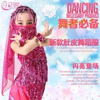 indian clothes - Kids Belly Dance Costumes Wear Children Dance Clothes Bellydance for Girls Gift Indian Dress Colors S XXL Bellydance Clothes