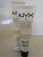 Wholesale price NYX BB Cream beauty balm baume beaute brightens smoothes moisturizes oil free Mineral Enriched ml Colors Free DHL