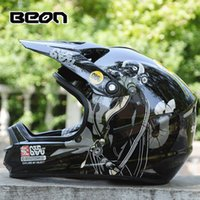 anti fog visor - motorcycle helmet men Ms anti fog dual lens off road full face helmet visor exposing BEON MX Motorcycle racin