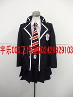 ao cosplay - Blue Exorcist School Uniform Women Female Clothing Ao no Exorcist Okumura Rin Cosplay Costumes