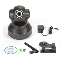 Wholesale Wifi IP Camera P Megapixel Wireless PT ONVIF IP Camera Baby Monitor Security Support TF card