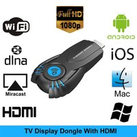 Wholesale Vsmart V5ii Ezcast WiFi Display Receiver DLNA AirPlay Miracast Dongle HDMI P Smart TV Stick for Mac iOS Windows Android