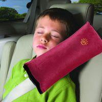Wholesale Baby Auto Pillow Car Safety Belt Protect Shoulder Pad Purple adjust Vehicle Seat Belt Cushion for Kids Children