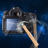 Wholesale mm Camera Tempered Glass LCD Screen Panel Film Protector HD Guard Waterproof Cover For Canon D D Digital