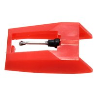 Wholesale Red Plastics Ceramic Turntable Diamond Stylus Needles For Hono Cartridge Phonograph Accessories X mm