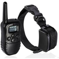 Wholesale Dog training collar LCD Remote Control Blue Screen Level static and Vibra Pet Dog Training Collar