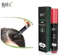 Wholesale Dr Tao Tao genuine disposable hair natural plant hair dye stick brand hair comb black