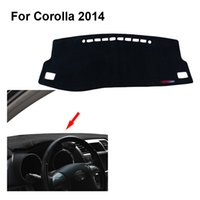 Wholesale 2015 car dashboard Protected from light mat console shading Sun protection visor pad For Toyota For Corolla
