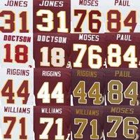 Wholesale John Riggins Jersey Josh Doctson Matt Jones Morgan Moses Niles Paul Trent Williams American Football Jerseys Elite