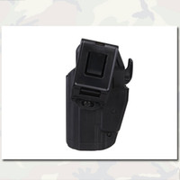 Wholesale Right Hand Holster Gls Pro Fit Tactical Airsoft Duty Pouch Assault Paintball Gear Pistol Hunting Holster Pouch Black EM6284 Outdoor